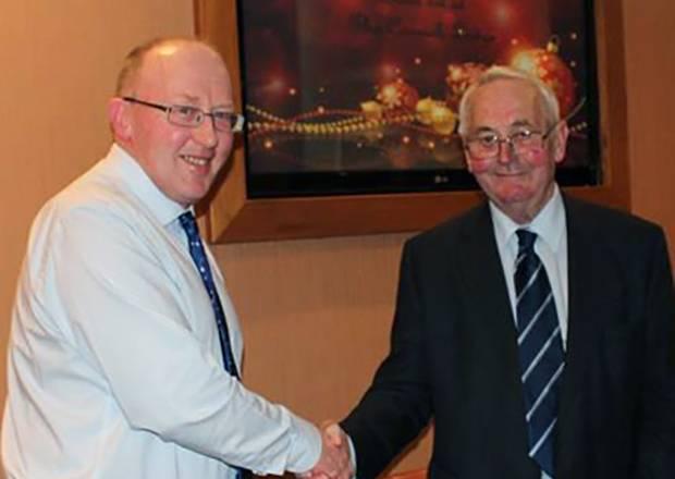 Alex Kirkpatrick - Chairman of Cattle Services (Ayr) Ltd and Edward Evans