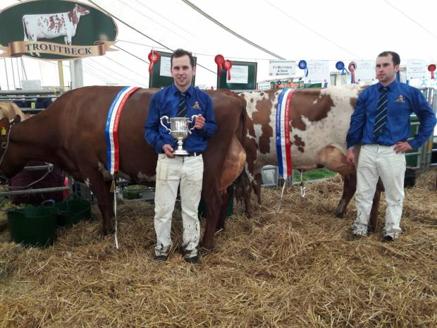 Burke Trophy awarded at Westmorland County Show