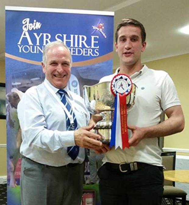 Hugh Stevenson Award Winner - David Lawrie, Lanarkshire