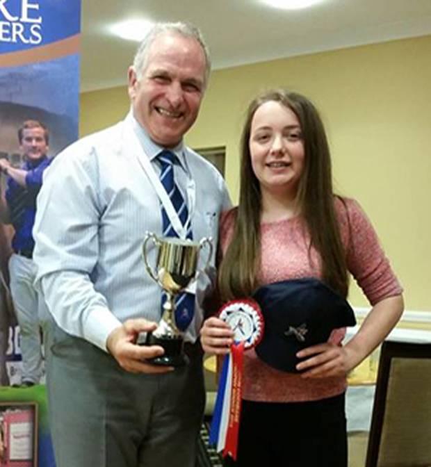 John Cochrane Trophy Winner - Laura Partington, Lancashire