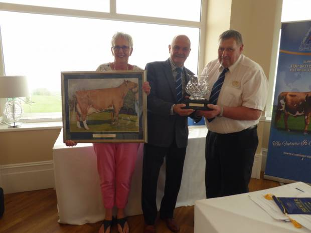 Special awards presented at the 2018 Ayrshire Cattle Society AGM