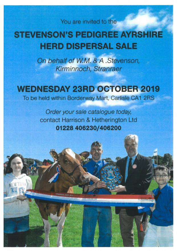 Stevenson's Pedigree Dispersal Sale