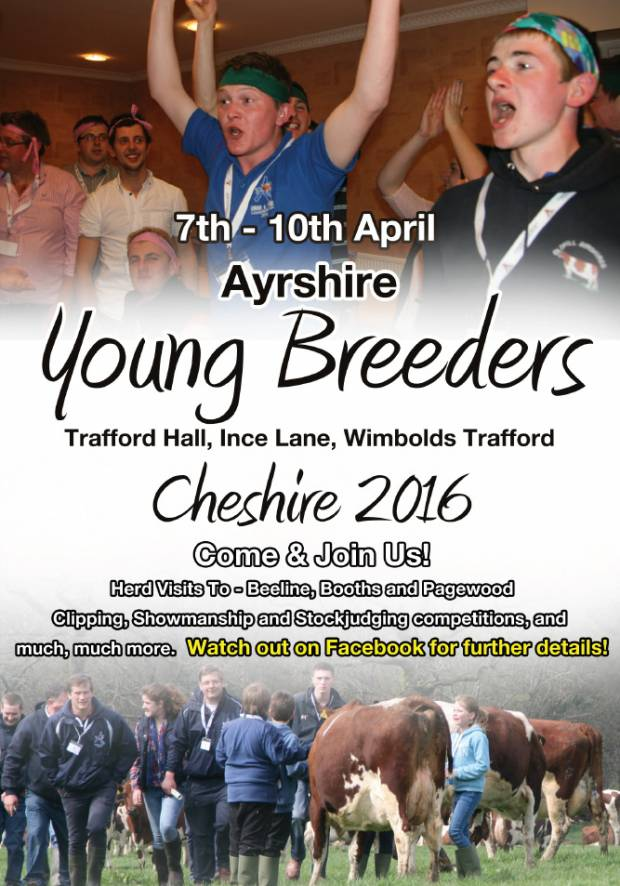 2016 Young Breeders Gathering - Final Bookings Being Taken