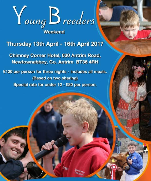 Bookings For Young Breeders Gathering Is Fast Approaching